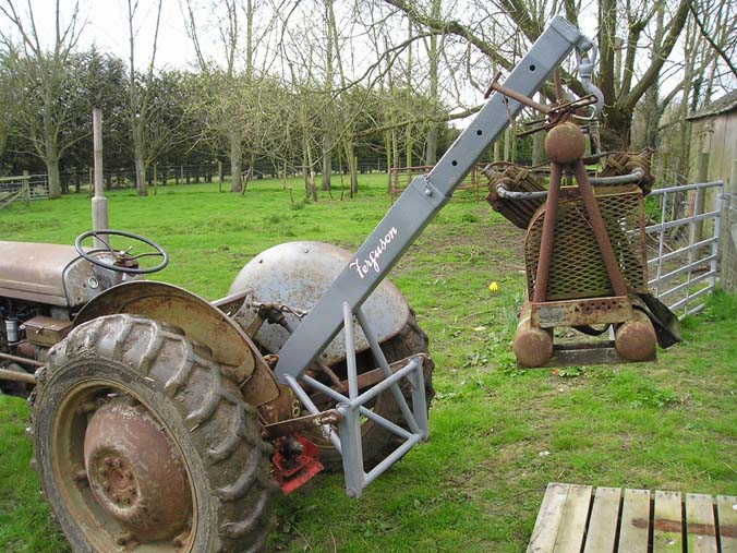 Tractor Three Point Boom : Rhodds s farm vintage collection other