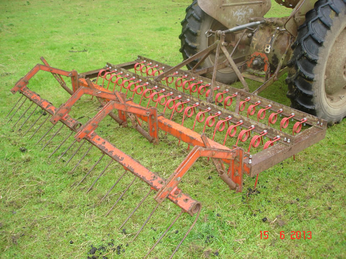Landscape Rake Or Harrow : Rhodds s farm machinery for sale